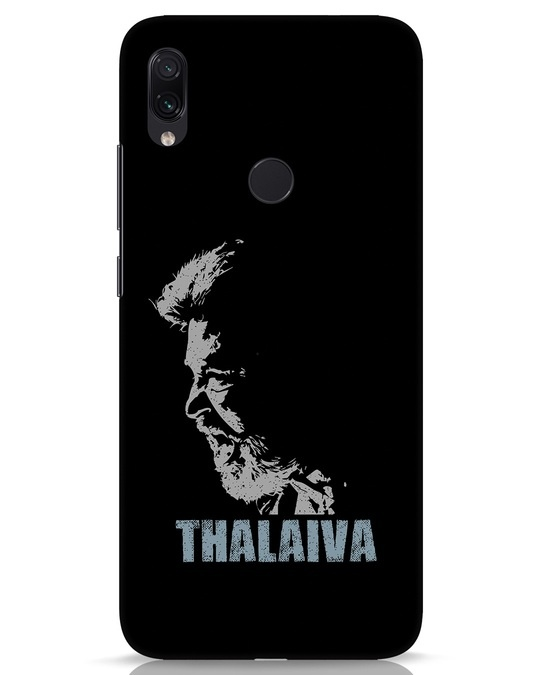 Shop Thalaiva Xiaomi Redmi Note 7s Mobile Cover-Front