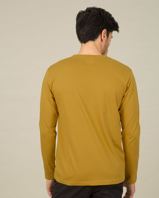 Shop Thankte Dao Full Sleeve T-Shirt-Back