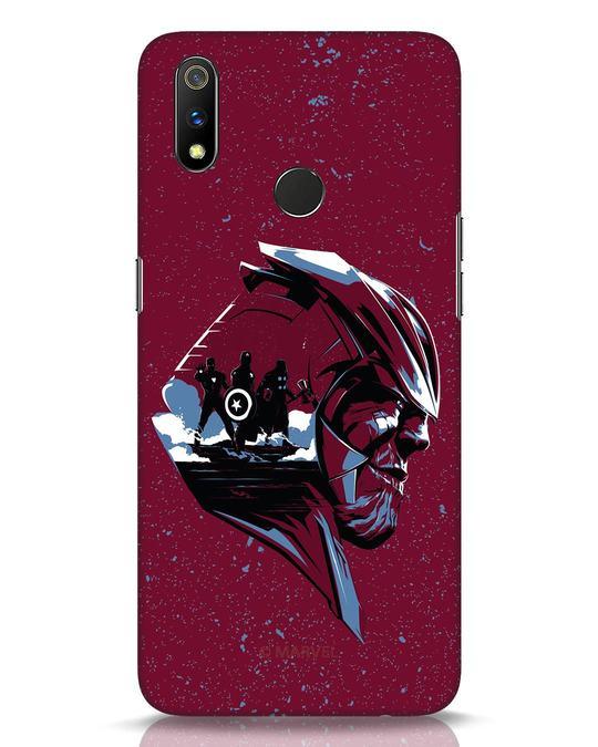 Shop Thanos Endgame Realme 3 Pro Mobile Cover (AVL)-Front