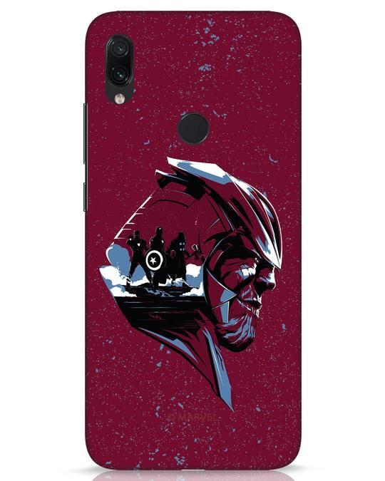 Shop Thanos Endgame Xiaomi Redmi Note 7s Mobile Cover (AVL)-Front