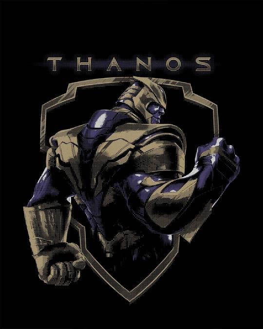 Shop Thanos Full Sleeve T-Shirt (AVEGL)