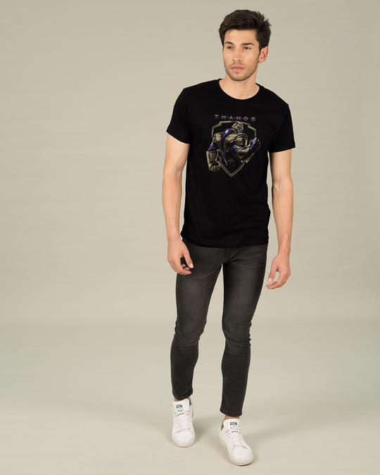 Shop Thanos Half Sleeve T-Shirt (AVEGL)