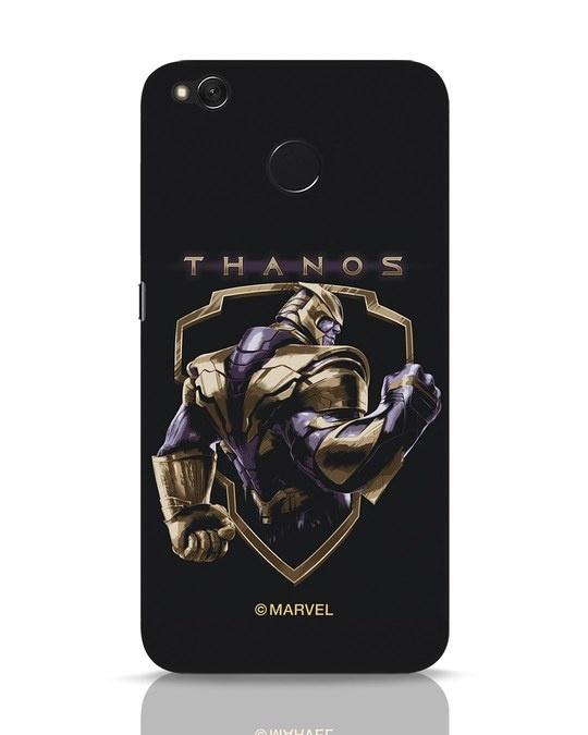 Shop Thanos Xiaomi Redmi 4 Mobile Cover (AVL)-Front