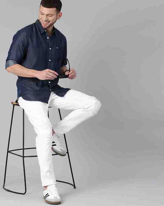 Shop Men's Blue Core Denim Shirt