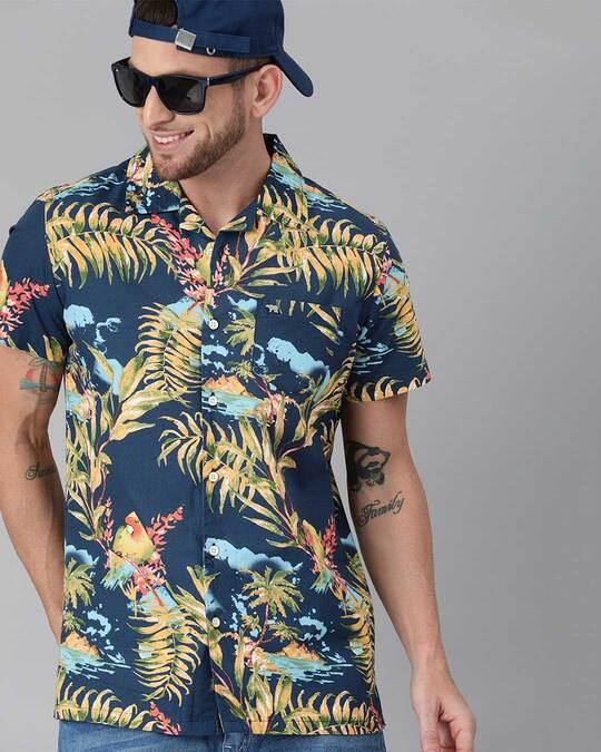 Shop Printed Casual Shirt-Front