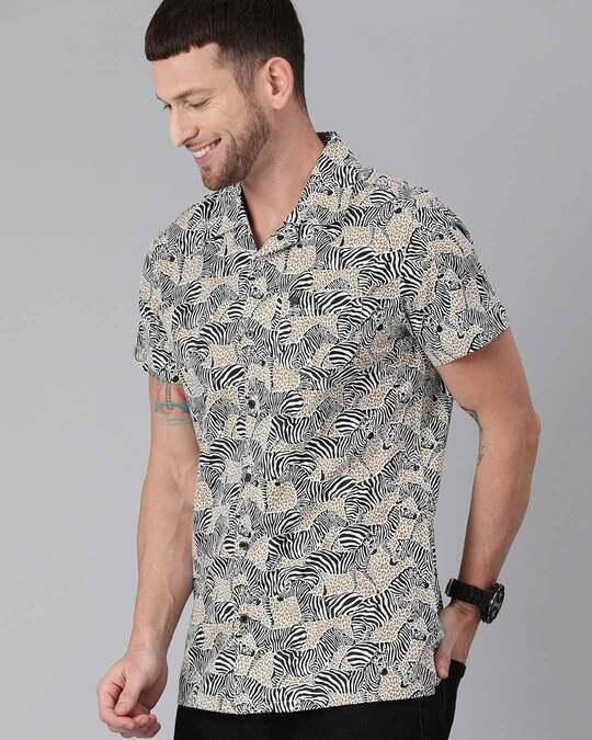 Shop Printed Casual Shirt-Back