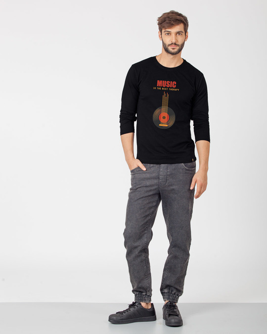 Shop The Best Therapy Full Sleeve T-Shirt-Design