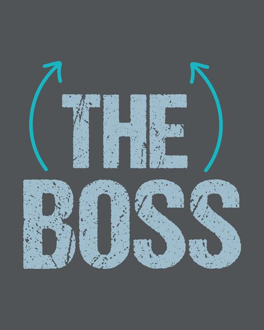 Shop The boss Half Sleeve T-Shirt-Full