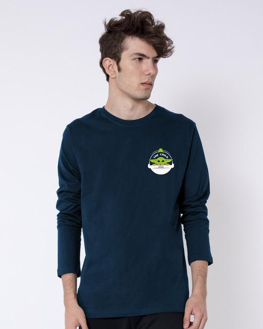Shop The Child Badge  Full Sleeve T-Shirt-Back