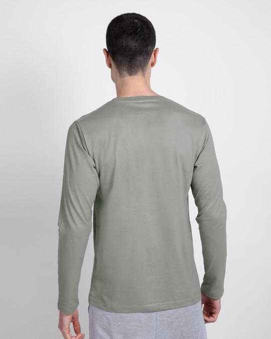 Shop The Child Full Sleeve T-Shirt (SWL)-Back