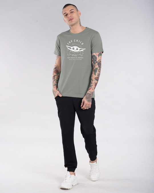 Shop The Child Half Sleeve T-Shirt (SWL)-Design