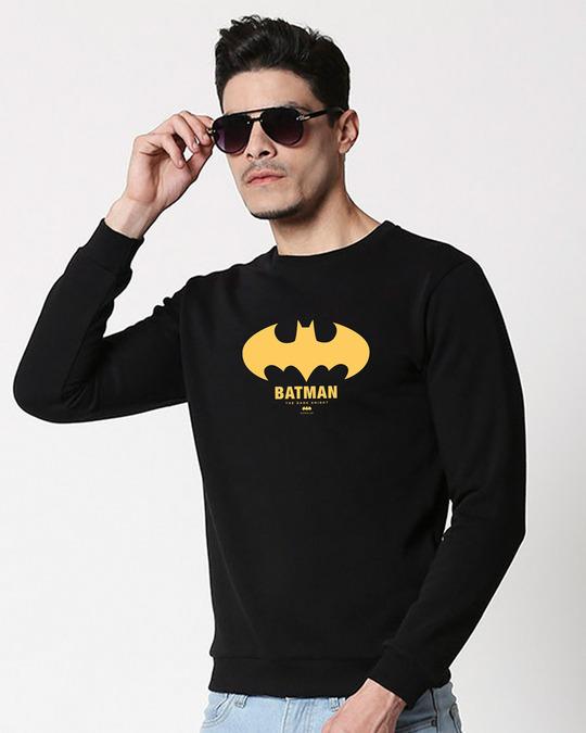 Shop The Dark Knight 2.0(BML) Fleece Sweater-Front