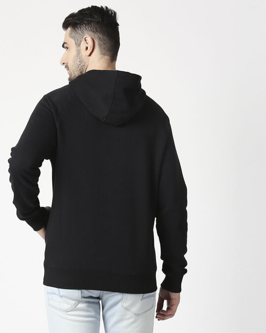 Shop The Dark Knight 2.0 Stylised Panel Hoodie Sweatshirt (BML)-Design
