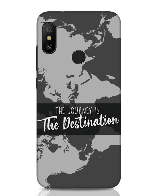 Shop The Destination Xiaomi Redmi Note 6 Pro Mobile Cover-Front