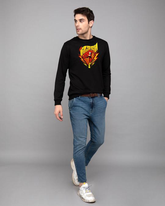 Shop The Flash Front Fleece Light Sweatshirts (FL)-Design