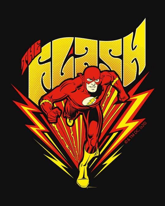 Shop The Flash Front Full Sleeve T-Shirt (FL)