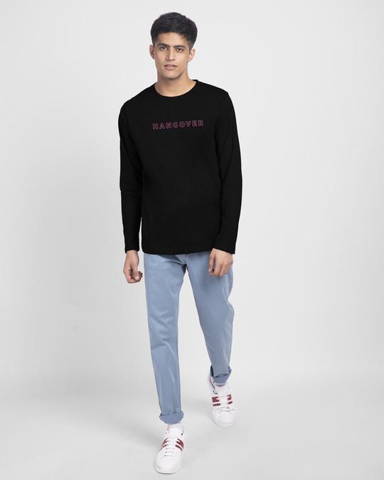 Shop The Hangover Full Sleeve T-Shirt Black-Full