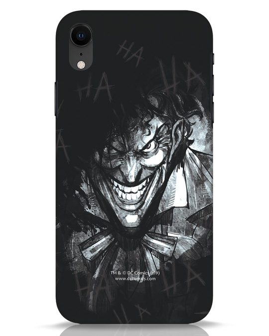 Shop The Joker Laugh iPhone XR Mobile Cover (BML)-Front
