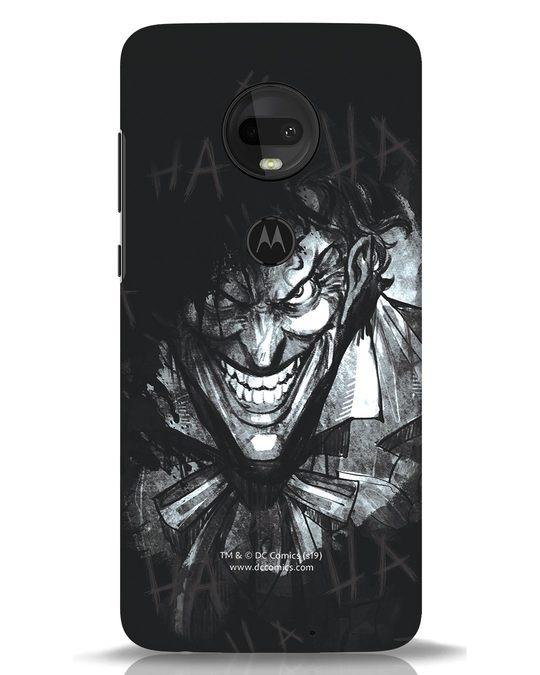 Shop The Joker Laugh Moto G7 Mobile Cover (BML)-Front