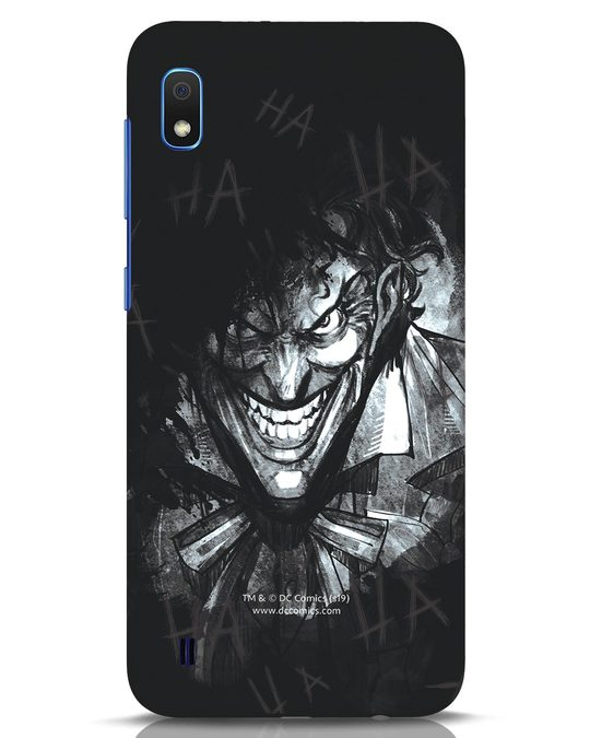 Shop The Joker Laugh Samsung Galaxy A10 Mobile Cover (BML)-Front