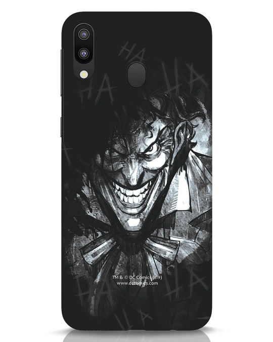 Shop The Joker Laugh Samsung Galaxy M20 Mobile Cover (BML)-Front