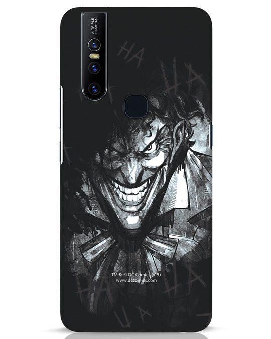Shop The Joker Laugh Vivo V15 Mobile Cover (BML)-Front