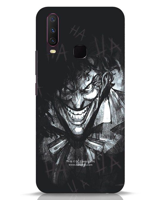 Shop The Joker Laugh Vivo Y17 Mobile Cover (BML)-Front