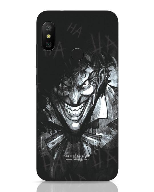 Shop The Joker Laugh Xiaomi Redmi 6 Pro Mobile Cover (BML)-Front