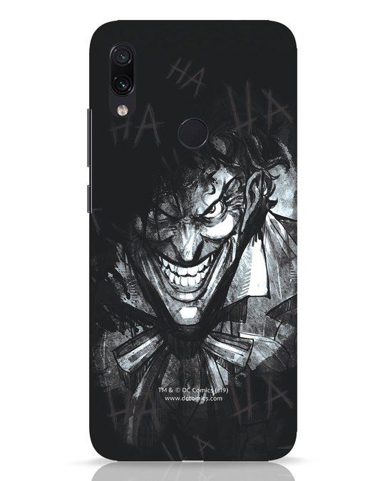 Shop The Joker Laugh Xiaomi Redmi Note 7 Pro Mobile Cover (BML)-Front