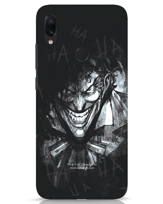 Shop The Joker Laugh Xiaomi Redmi Note 7s Mobile Cover (BML)-Front
