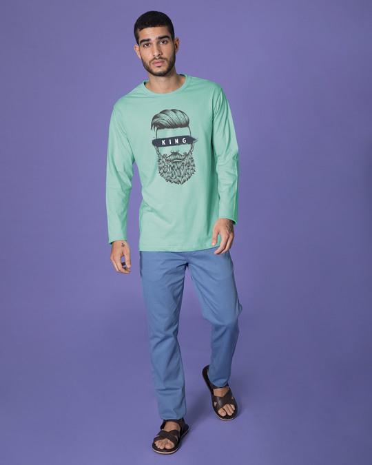Shop The King Of Beards Full Sleeve T-Shirt-Full