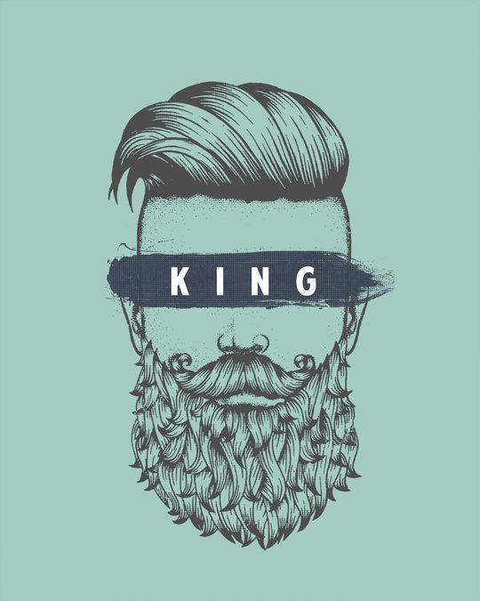Shop The King Of Beards Full Sleeve T-Shirt