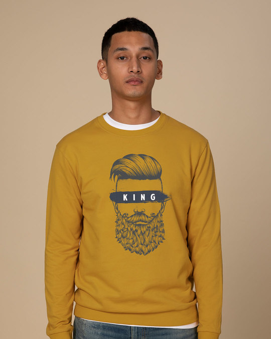 Shop The King Of Beards Sweatshirt-Front
