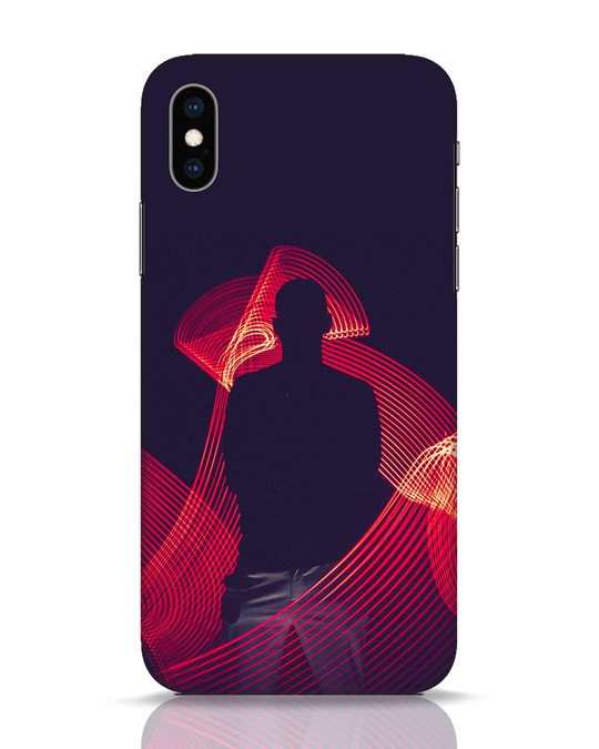 Shop The Man iPhone XS Mobile Cover-Front