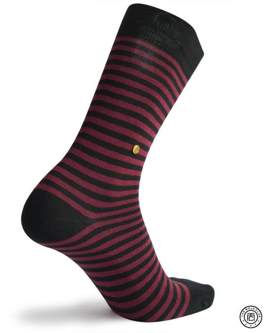 Shop The Moja Club printed Socks-Front