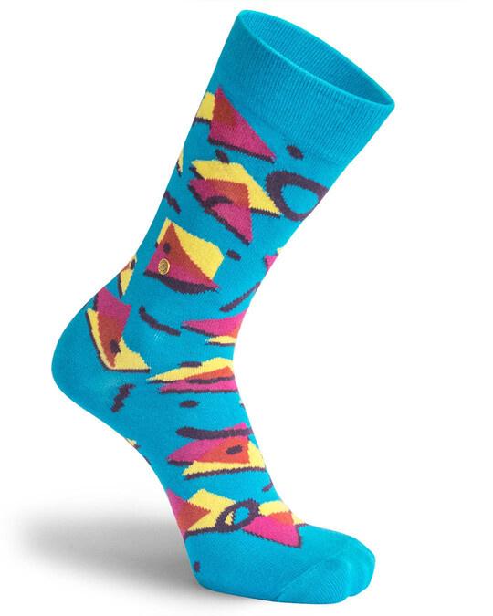 Shop The Moja Club printed Socks-Back