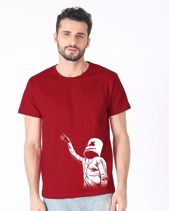 Shop The Mrsmlw Dj Half Sleeve T-Shirt-Back