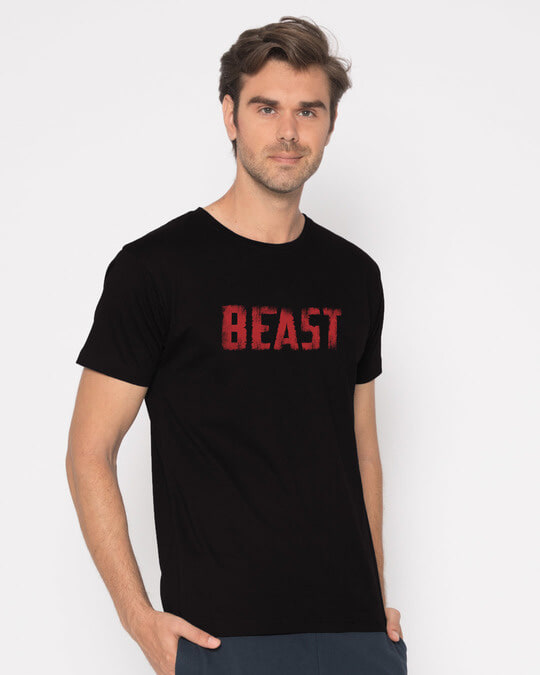 Shop The New Beast Half Sleeve T-Shirt-Full
