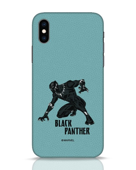 Shop The Panther Looks iPhone XS Mobile Cover-Front