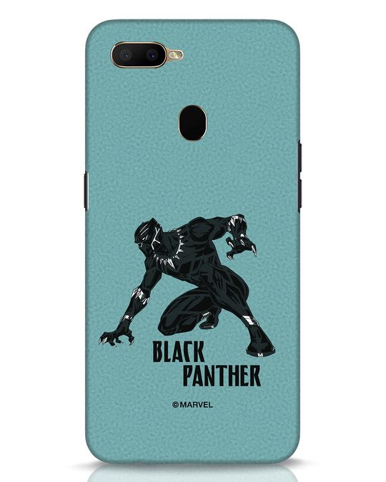 Shop The Panther Looks Oppo A5s Mobile Cover-Front