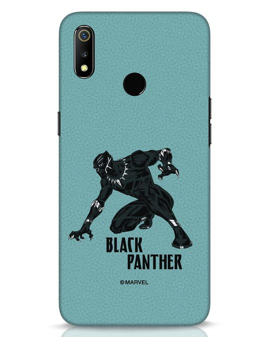 Shop The Panther Looks Realme 3 Mobile Cover-Front