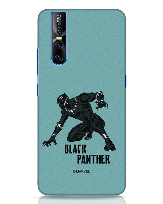 Shop The Panther Looks Vivo V15 Pro Mobile Cover-Front