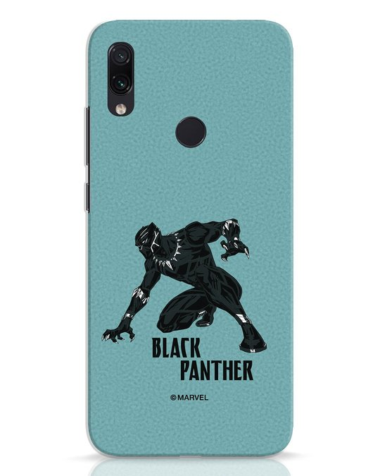 Shop The Panther Looks Xiaomi Redmi Note 7 Mobile Cover-Front