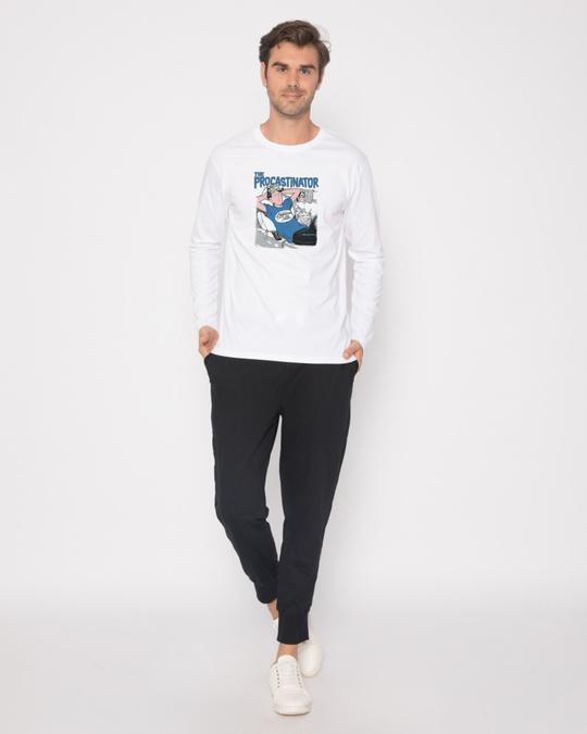 Shop The Procrastinator Full Sleeve T-Shirt-Full