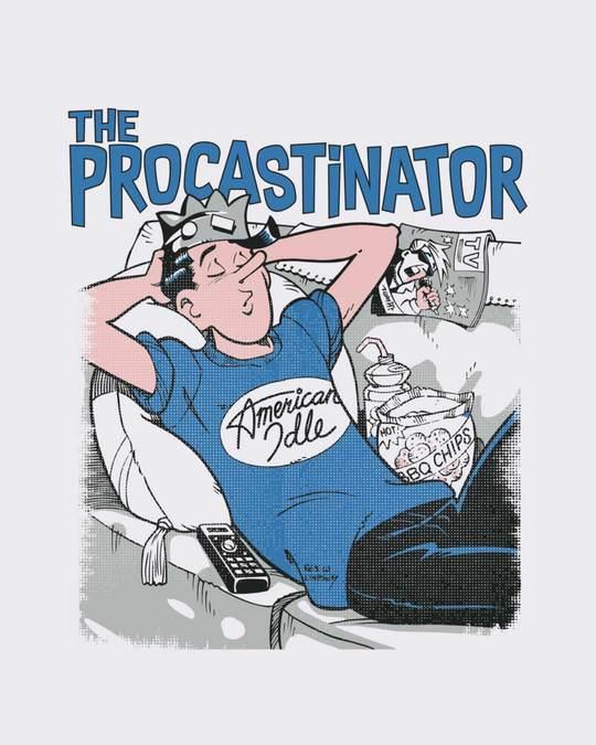Shop The Procrastinator Full Sleeve T-Shirt