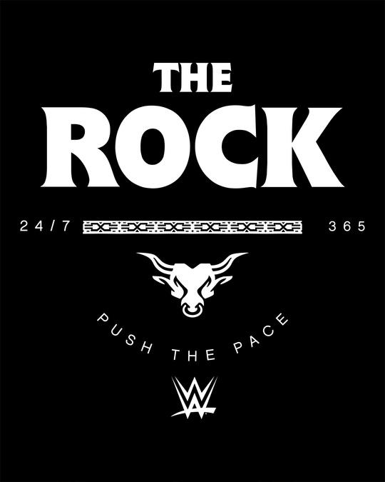 Shop The Rock Boyfriend T-Shirt (WWEL)