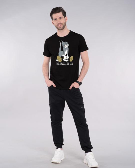 Shop The Struggle Is Real Half Sleeve T-Shirt (TJL )-Design