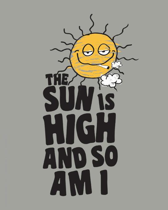 Shop The Sun Is High Full Sleeve T-Shirt-Full