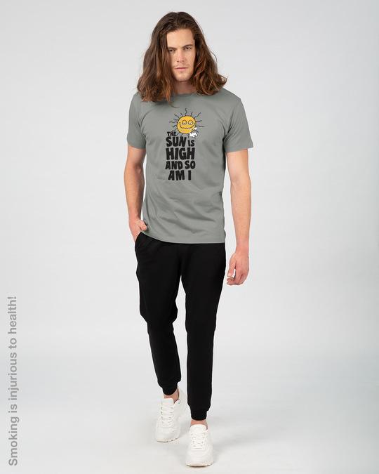 Shop The Sun Is High Half Sleeve T-Shirt