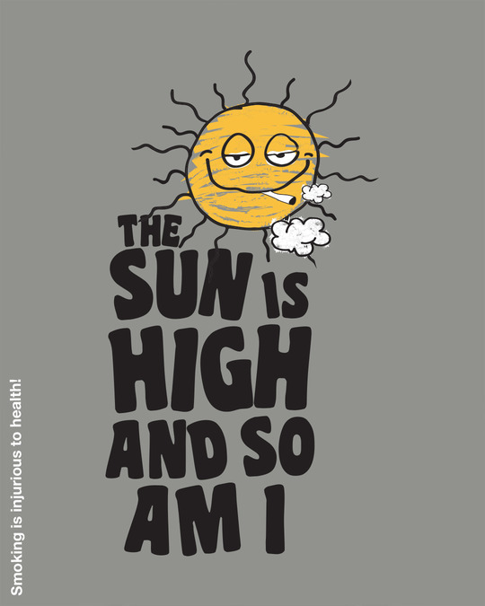 Shop The Sun Is High Half Sleeve T-Shirt